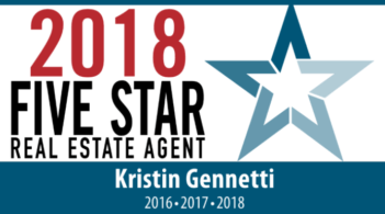 Kristin Gennetti Five Star Real Estate 2016 Winner
