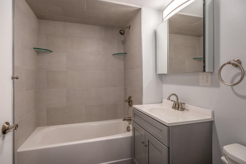 Master Bathroom at 244 Central Ave, Medford