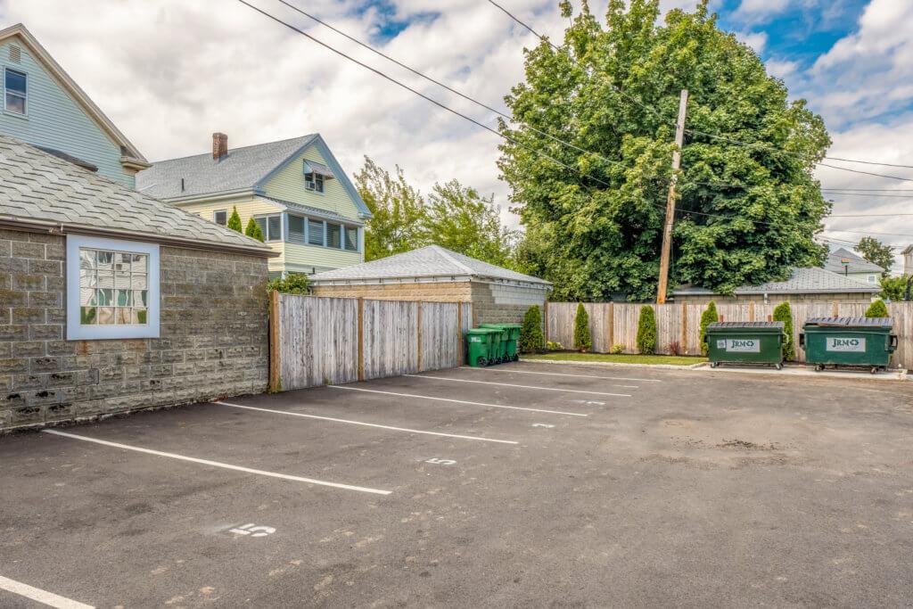 Exterior Parking Lot for 244 Central Avenune, Medford